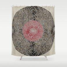 - En Ligne de Mire (Japanese Baby) - Shower Curtain