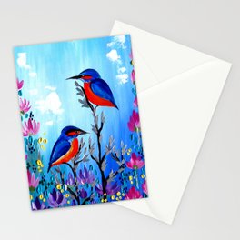 I Love Being With You Stationery Cards
