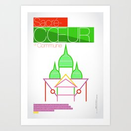 SACRÉ-CŒUR Art Print