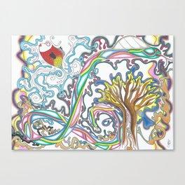 VYEL Collaboration  Canvas Print