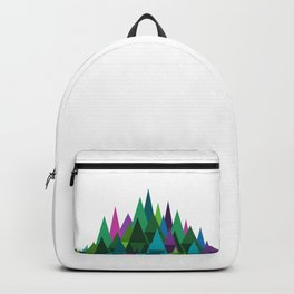 Jewel Toned Mountain Range Backpack