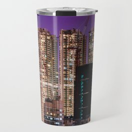 Hong Kong Purple High Rise Travel Mug