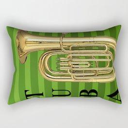 Tubby the Tuba Rectangular Pillow