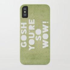 Gosh (WOW!) Slim Case iPhone X