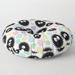Soot Sprite Pattern Floor Pillow