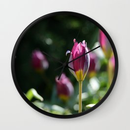 Sprouting Beauty Wall Clock