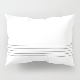 simple stripes Pillow Sham