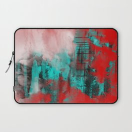 Intense Red And Blue Laptop Sleeve