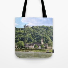 Burg Osterspai am Rhein Tote Bag