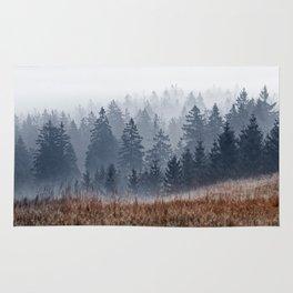 Lost In Fog Rug