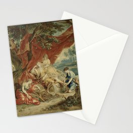 Resting Diana, from the Triumph of the Gods Stationery Cards