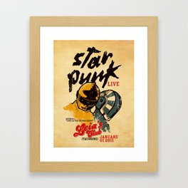 Star Punk Framed Art Print