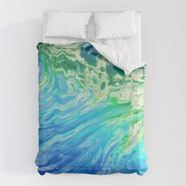 Abstract water 145 Comforters