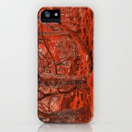 Ruby Moss Forest iPhone Case