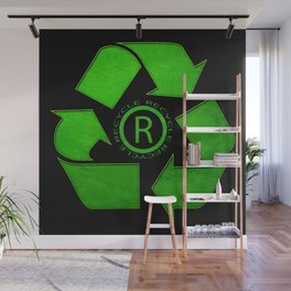 Recycle Logo Wall Mural