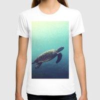 sea turtle T-shirts featuring Turtle by Rachel's Pet Portraits