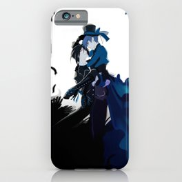 The Crow & The Butterfly iPhone Case