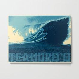 Teahupo'o Wave Print Metal Print