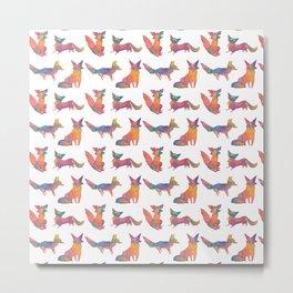 fox foursome  Metal Print
