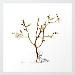 Grape tree Art Print