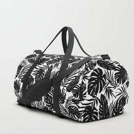 Urban Jungle White Duffle Bag