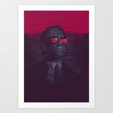 Nightcrawler - alternative movie poster Art Print