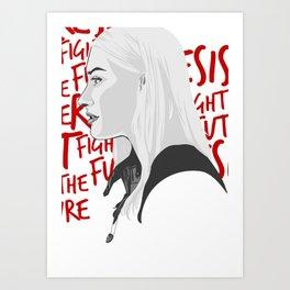 Etta Bishop Art Print