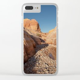 After the Rain - I, Valley_of_Fire Canyon, NV Clear iPhone Case