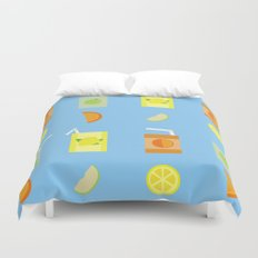 Juice Pattern Duvet Cover