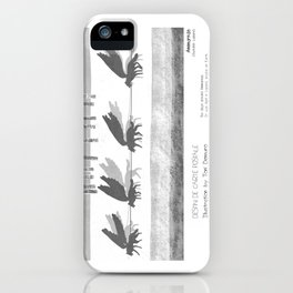 """Ammarnäs"" in words & image (Toni Demuro) iPhone Case"
