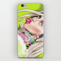 artrave iPhone & iPod Skins featuring ArtRAVE by Dafni