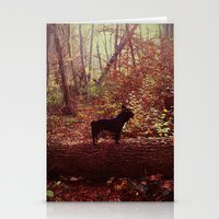 frenchie Stationery Cards featuring Frenchie by KrizanDS