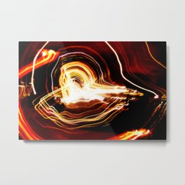 Streaky Lights #1 Metal Print