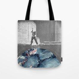 Hammering Tote Bag