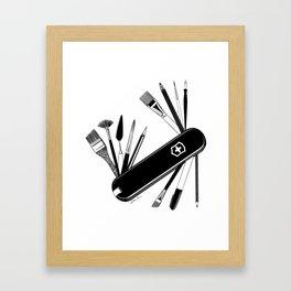 Art Almighty Framed Art Print