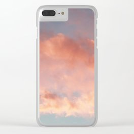 Pink and Blue Sky Over Newport Rhode Island Clear iPhone Case