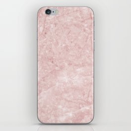 Pretty in Pink Marble iPhone Skin
