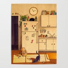 Kitchen Floor Poster