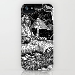 Dreaming Of Egypt iPhone Case