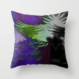 Darkness Throw Pillow
