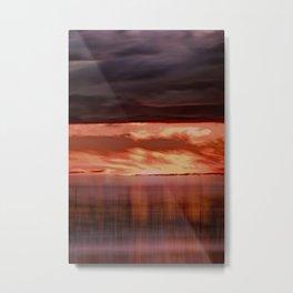 A storm (Digital Art) Metal Print