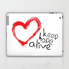 keep hope alive Laptop & iPad Skin