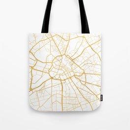 MANCHESTER ENGLAND CITY STREET MAP ART Tote Bag