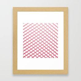 Ox Cross Stitch Framed Art Print