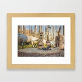 Wood Elf III Framed Art Print