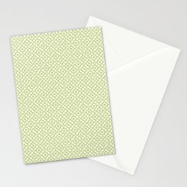 The arrows – green Stationery Cards