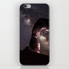 Watching stars iPhone Skin
