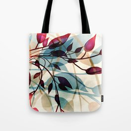 Flood of Leafs Tote Bag