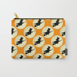 Halloween Witch Flight Carry-All Pouch