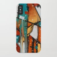 camp iPhone & iPod Cases featuring Camp fire by mystudio69